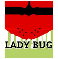 Lady Bug Pest Control Logo